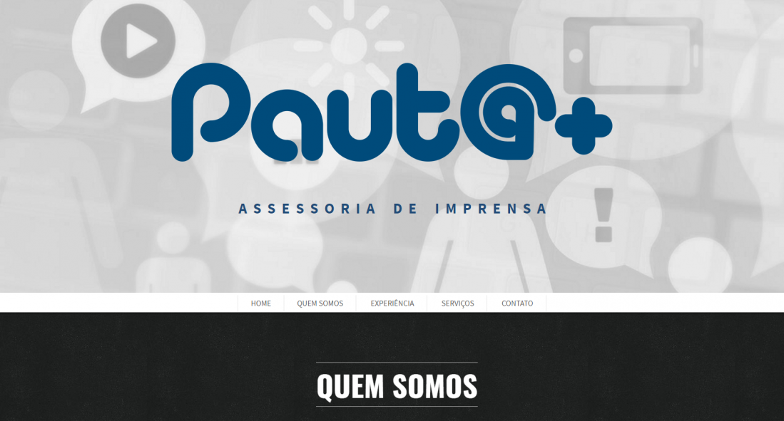 Pauta Mais – Site
